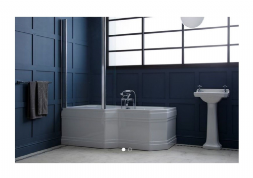 Carron Highgate 1700 x 900mm Shower Bath LH or RH
